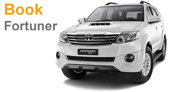 Book Toyota Fortuner